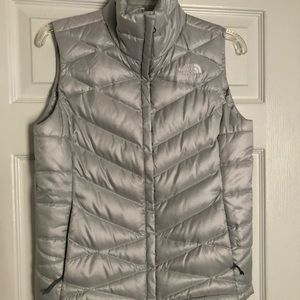 The Northface silver vest